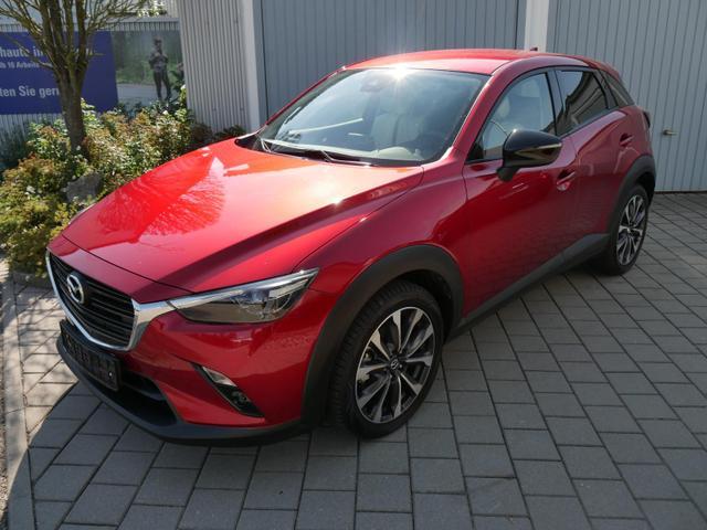 Gebrauchtfahrzeug Mazda CX-3 - SKYACTIV-G 2.0 HOMURA   LEDER WEIß VOLL-LED SITZHEIZUNG PARKTRONIC 18 ZOLL