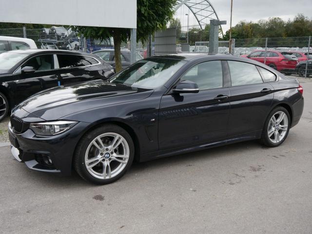 BMW 4er - 418i Gran Coupe STEPTRONIC M SPORT * GLAS-SCHIEBE-HEBEDACH LEDER DAKOTA HEAD-UP-DISPLAY