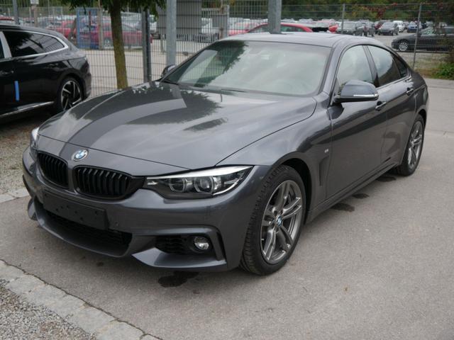 BMW 4er - 418i Gran Coupe STEPTRONIC M SPORT * GLAS-SCHIEBE-HEBEDACH LEDER DAKOTA PARKASSISTENT