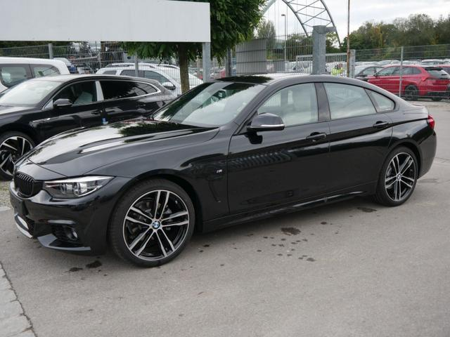 BMW 4er - 418i Gran Coupe STEPTRONIC M SPORT * GLAS-SCHIEBE-HEBEDACH LEDER DAKOTA 19 ZOLL