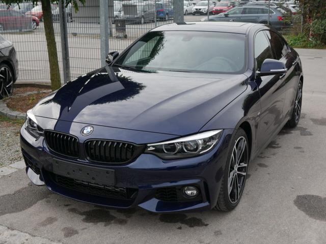 BMW 4er - 418i Gran Coupe STEPTRONIC M SPORT * GLAS-SCHIEBE-HEBEDACH NAVI LED PARKTRONIC