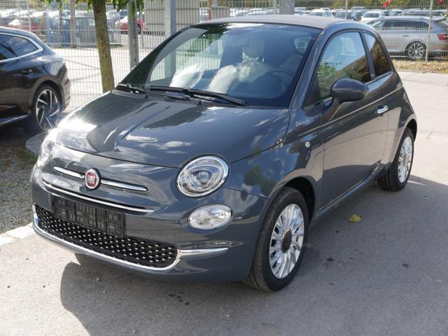 Fiat 500C - Hybrid 1.0 GSE DOLCEVITA * NAVI PARKTRONIC TEMPOMAT KLIMAAUTOMATIK DACH BEIGE