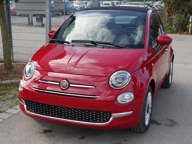 Fiat 500C - Hybrid 1.0 GSE DOLCEVITA * NAVI PARKTRONIC TEMPOMAT KLIMAAUTOMATIK DACH SCHWARZ