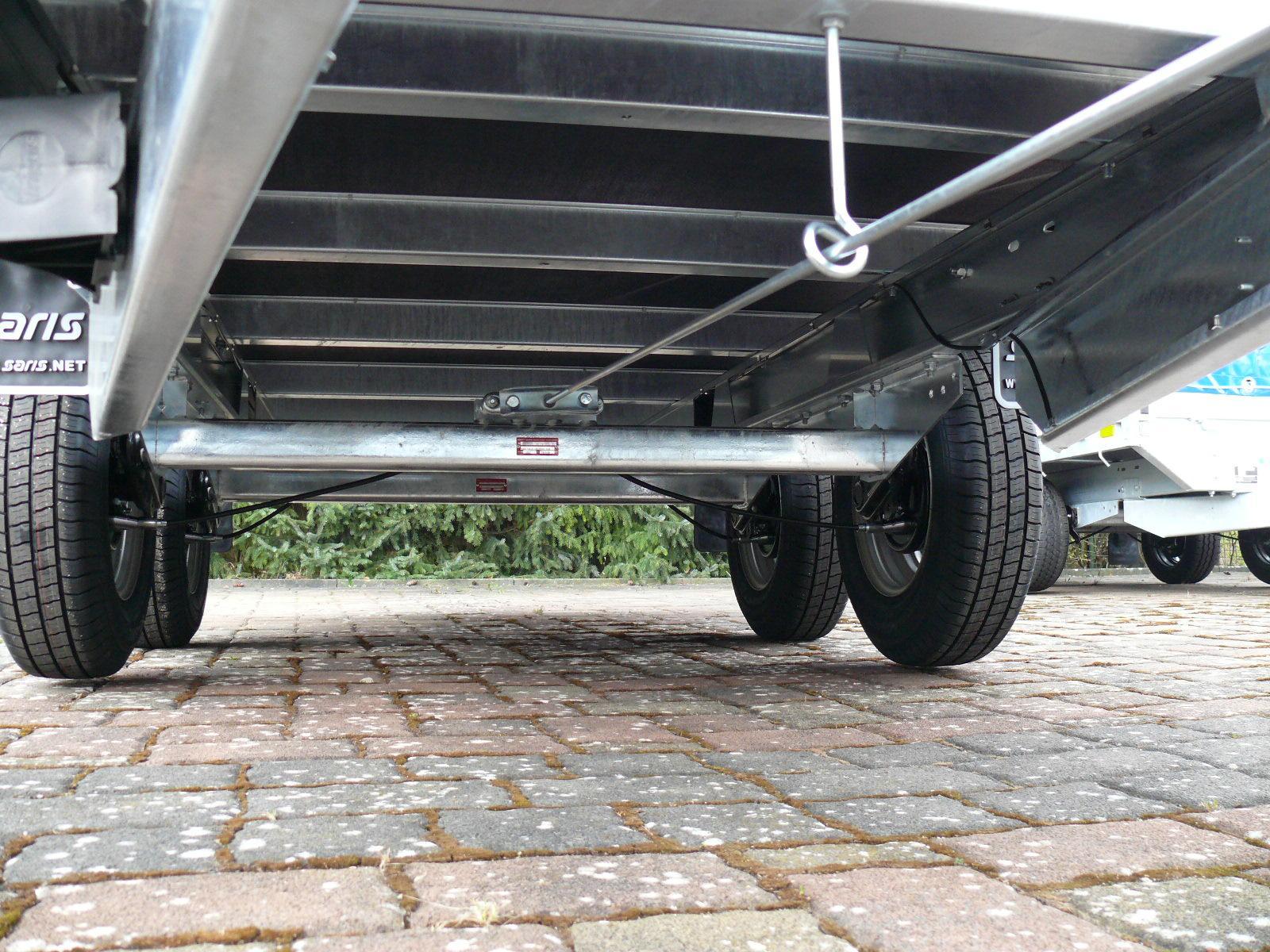 Anhänger Pritsche Saris PL 1820 406x184 2.000kg EU-Autos-kaufen.de