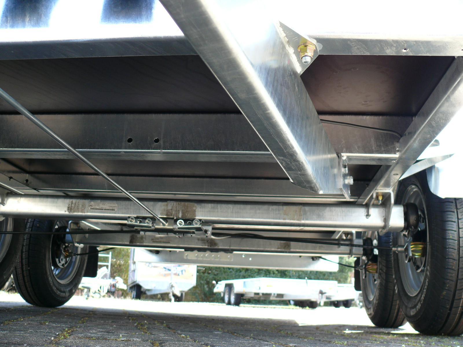 Anhänger Tieflader Hapert Azure L2 Aluminium 300x150 2.700kg EU ...