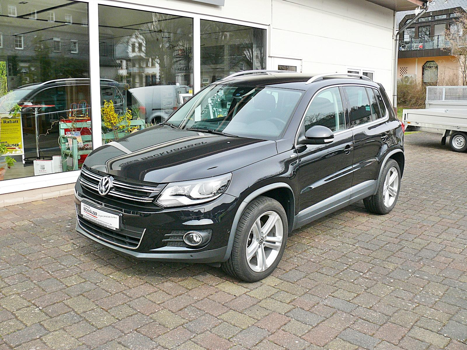 volkswagen tiguan sport style cup 2 0tdi bluemotion bi xenon navigation eu autos. Black Bedroom Furniture Sets. Home Design Ideas