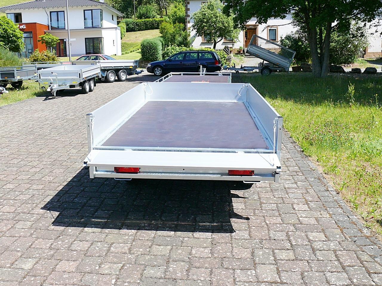 Anhänger Pritsche Saris PM Compact 1720 306x170 2.000kg EU-Autos ...