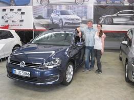 EU-Neuwagen: VW Golf Variant Reimport