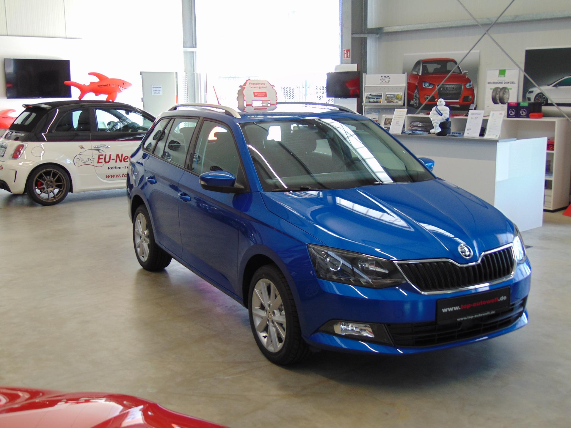 skoda fabia combi style euro6d temp 1 0 tsi 95 ps pdc. Black Bedroom Furniture Sets. Home Design Ideas