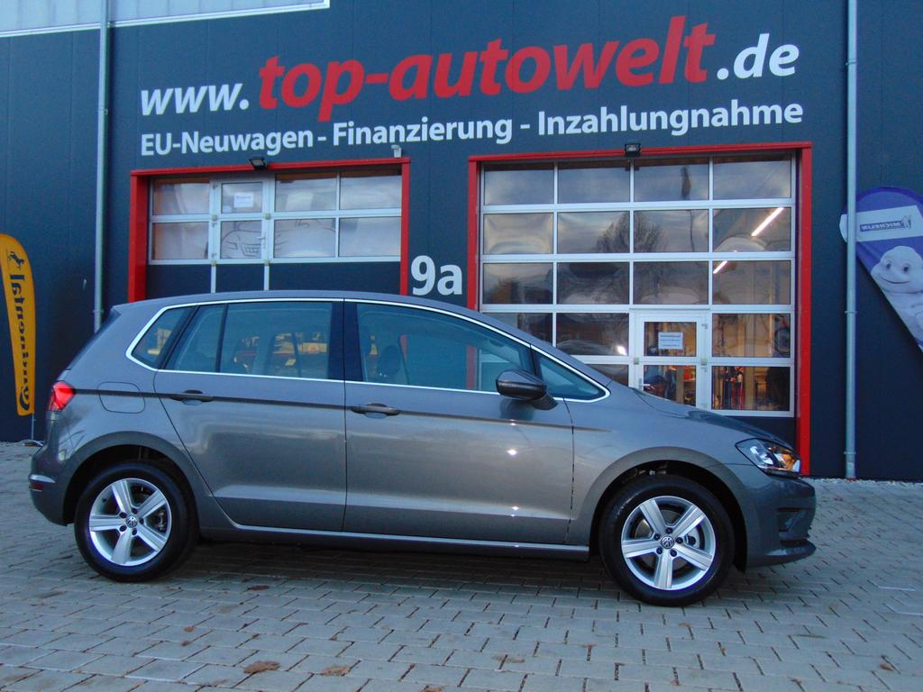 volkswagen golf sportsvan highline 2 0 tdi dsg automatik. Black Bedroom Furniture Sets. Home Design Ideas