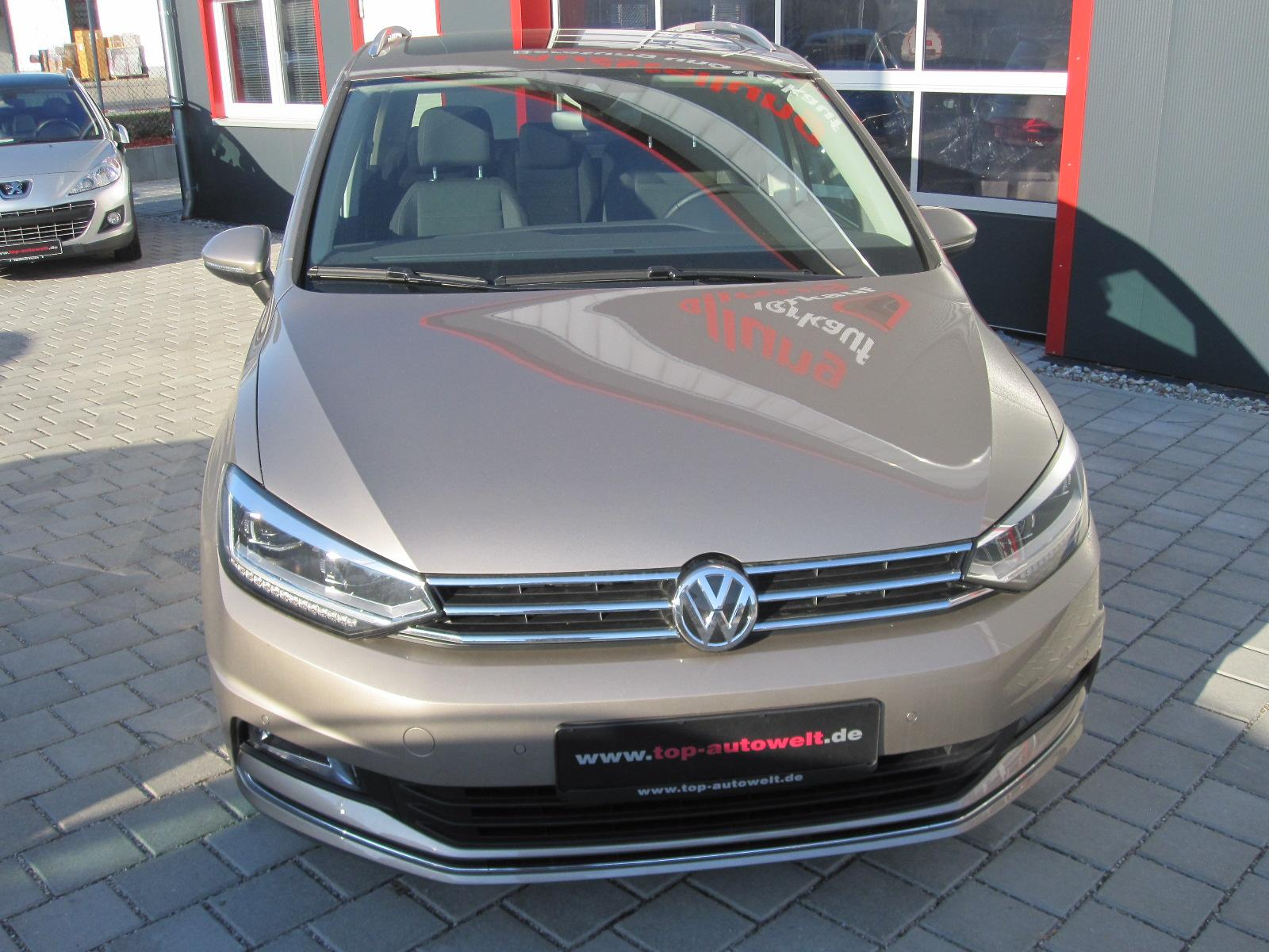 volkswagen touran highline edition 2 0 tdi led licht. Black Bedroom Furniture Sets. Home Design Ideas
