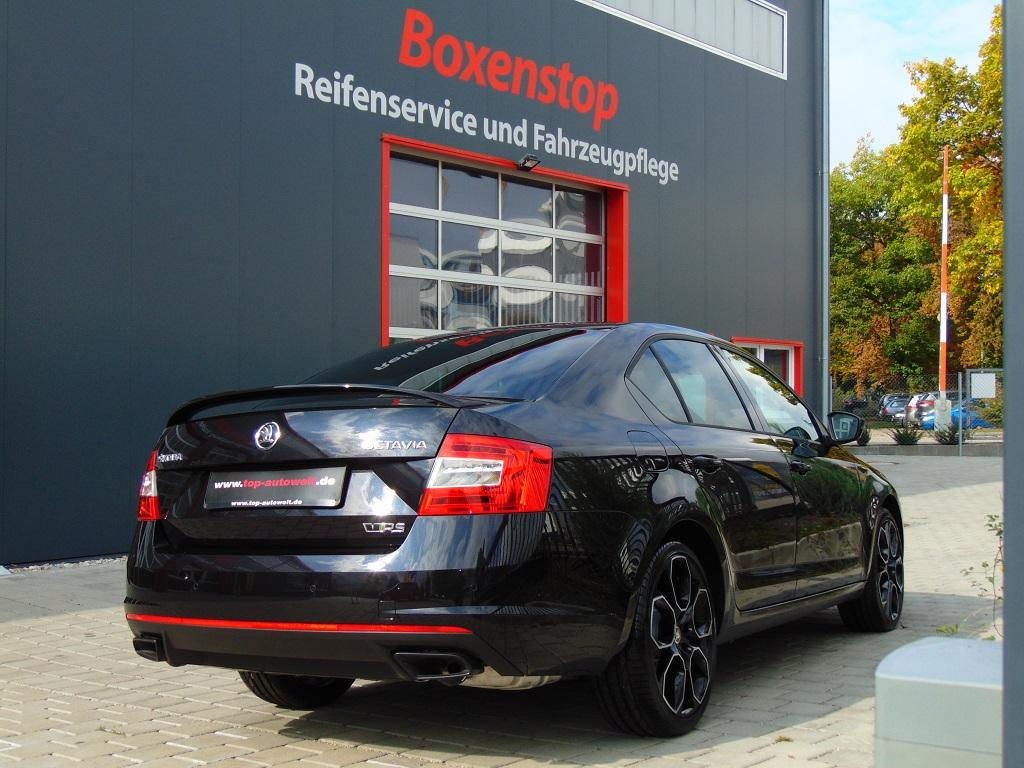 skoda octavia rs limousine neuwagen g nstig mit hohem. Black Bedroom Furniture Sets. Home Design Ideas