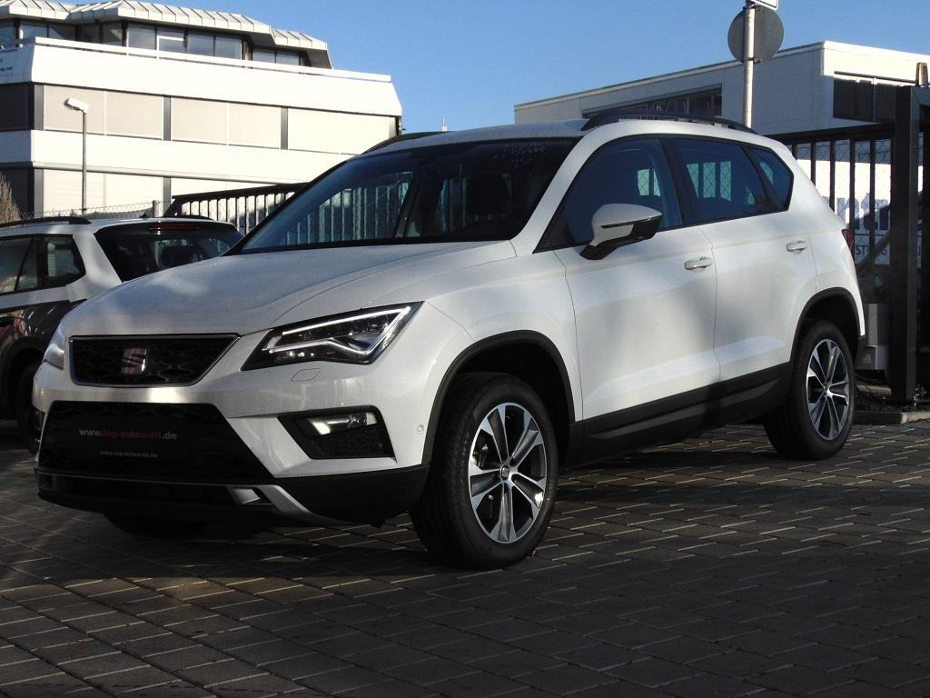 seat ateca xcellence 2 0 tdi 4drive dsg automatik led. Black Bedroom Furniture Sets. Home Design Ideas