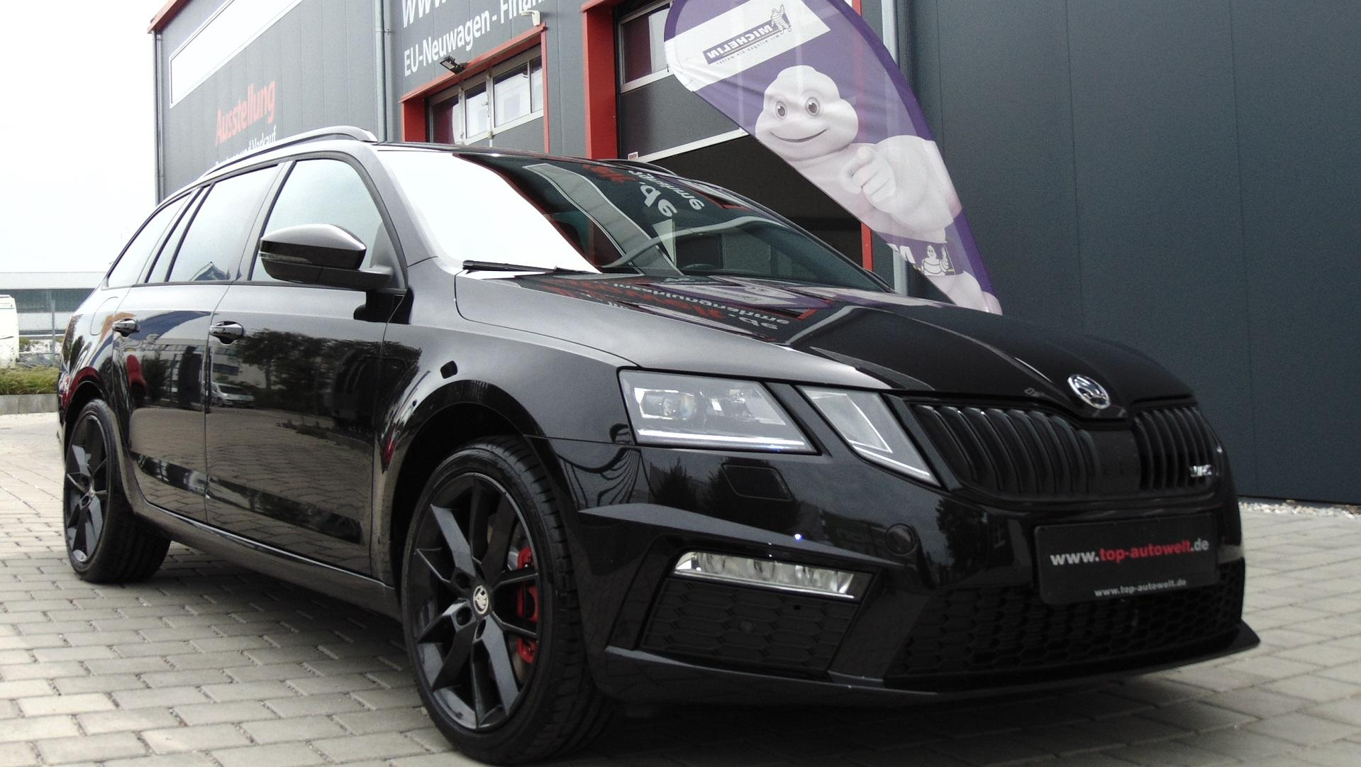 skoda octavia rs combi euro6d temp 2 0 tsi 245 ps led. Black Bedroom Furniture Sets. Home Design Ideas