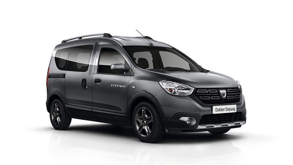 dacia dokker stepway euro6 wltp 1 6 sce start stop klima bluetooth abs esp airbags isofix. Black Bedroom Furniture Sets. Home Design Ideas