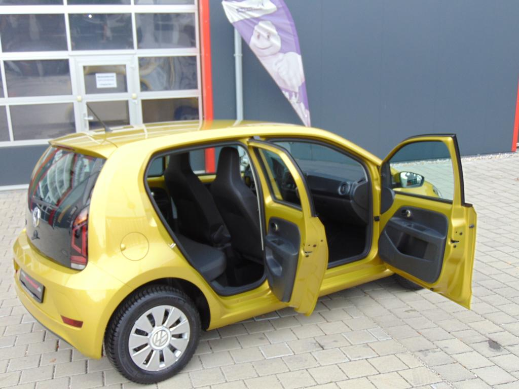volkswagen up take up 1 0 60 ps airbags abs esp. Black Bedroom Furniture Sets. Home Design Ideas