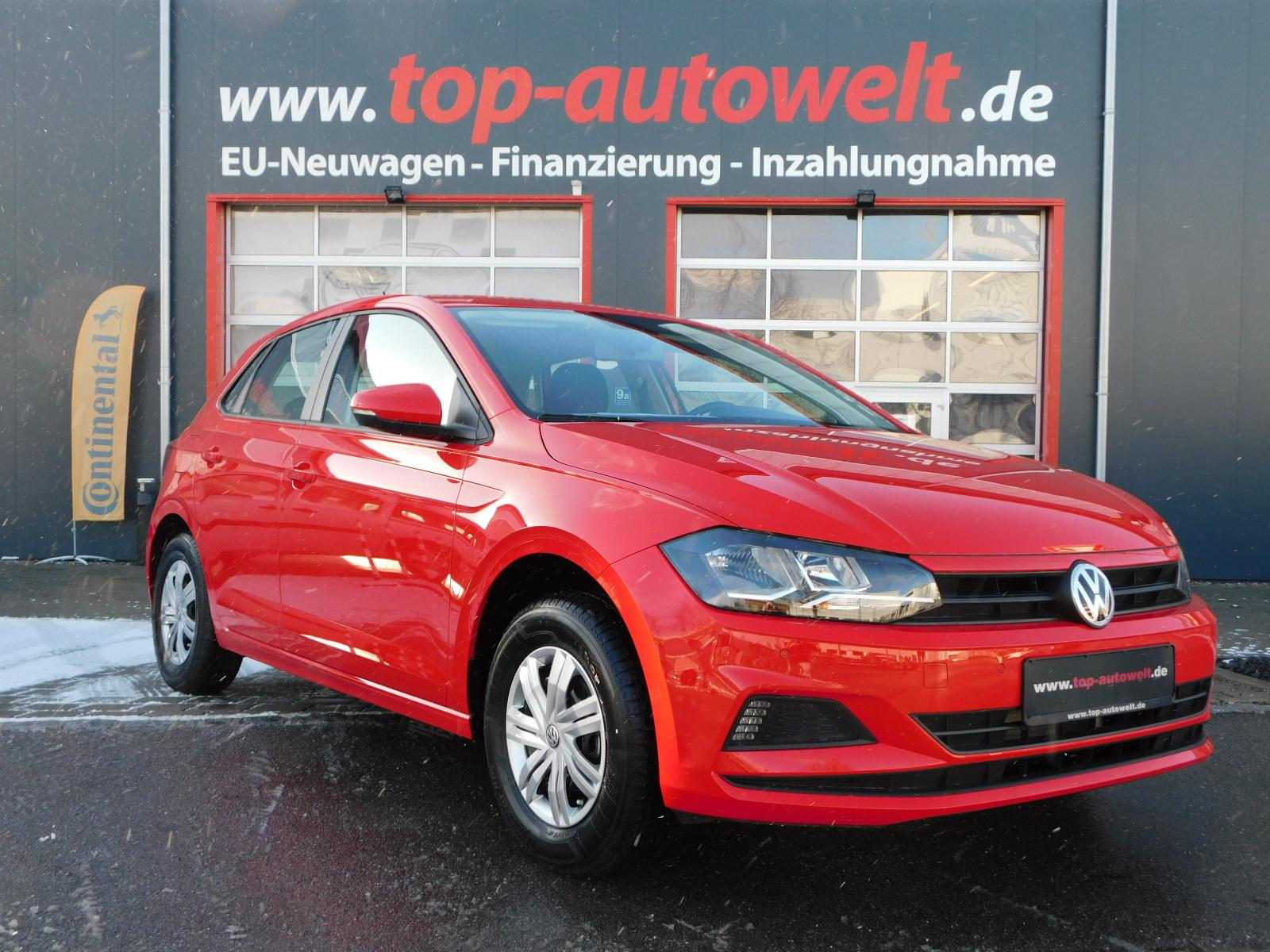 volkswagen polo comfortline 1 0 75 ps klima radio. Black Bedroom Furniture Sets. Home Design Ideas
