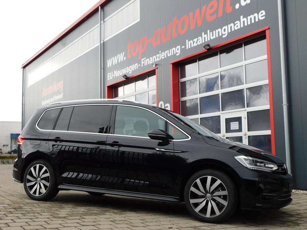 volkswagen touran r line edition 1 4 tsi automatik dsg led licht kurvenlicht navi. Black Bedroom Furniture Sets. Home Design Ideas