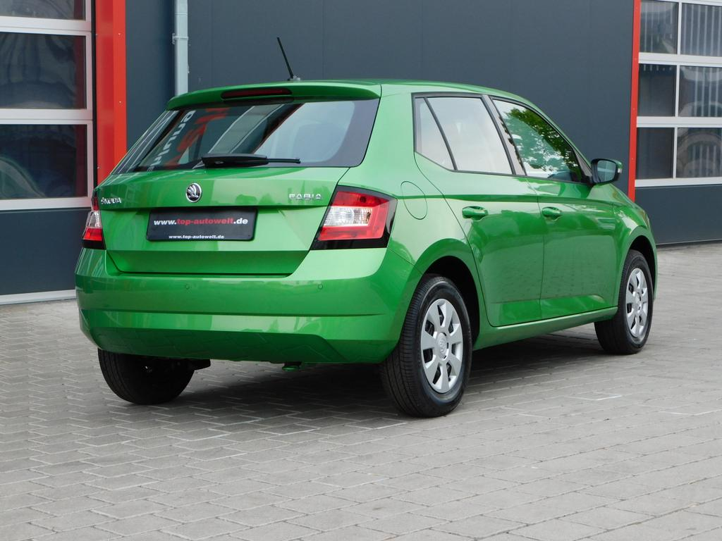 skoda fabia active euro6 wltp 1 0 mpi klima radio abs. Black Bedroom Furniture Sets. Home Design Ideas