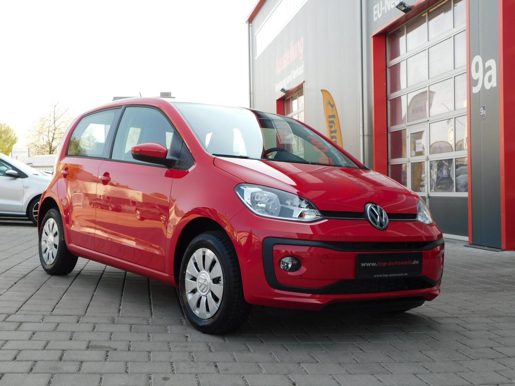 volkswagen up move 1 0 mpi 60 ps airbags abs esp. Black Bedroom Furniture Sets. Home Design Ideas