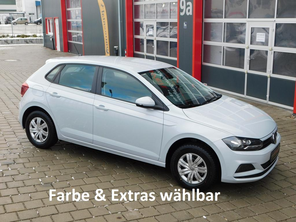 volkswagen polo trendline 1 0 evo 80 ps klima radio bluetooth front assist zentralverriegelung. Black Bedroom Furniture Sets. Home Design Ideas