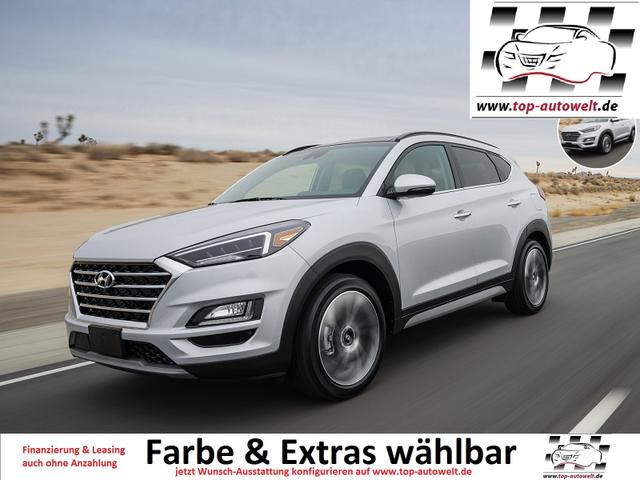 Hyundai Tucson - Family Euro6-WLTP 1.6 T-GDi DCT 177 PS, Klimaautom., Sitzhzg., PDC hinten, Bluetooth, Radio, 17