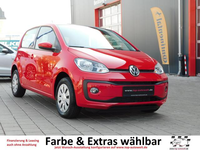 Volkswagen up! - take up! 1.0 - 60 PS EURO-6-WLTP Airbags, ABS, ESP, Radio, ZV