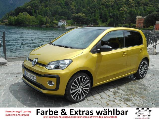 Volkswagen up! - high 1.0 MPi - 75 PS EURO-6-WLTP Klima, Sitzhzg., Radio, ZV, Alu, Airbags, ABS, ESP