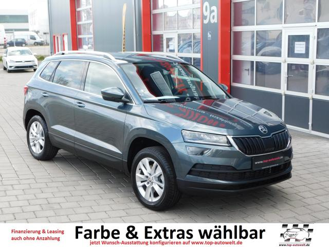 skoda karoq reimport eu neuwagen g nstig mit rabatt. Black Bedroom Furniture Sets. Home Design Ideas