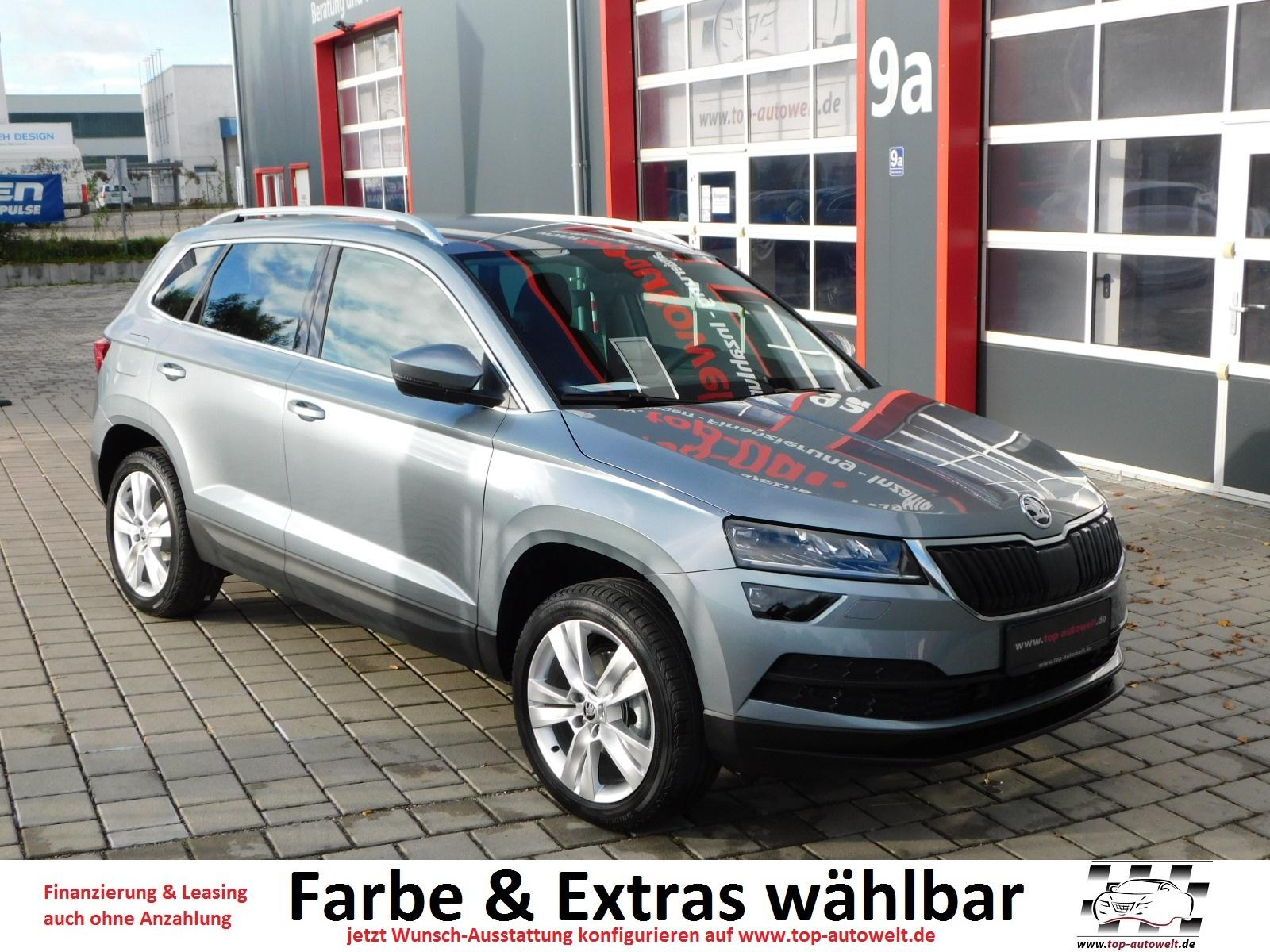 skoda karoq style 2 0 tdi 4x4 dsg led scheinwerfer acc. Black Bedroom Furniture Sets. Home Design Ideas