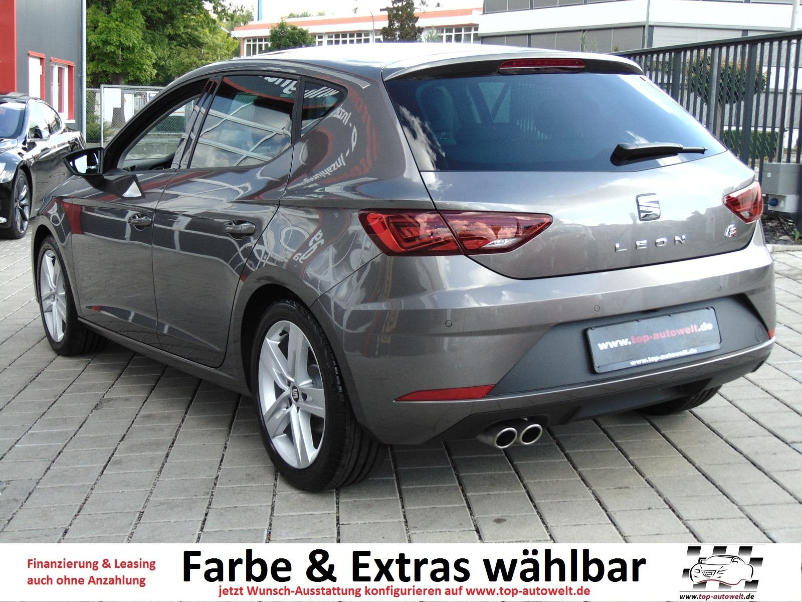seat leon fr euro6 wltp 1 5 tsi 130 ps klimaautom. Black Bedroom Furniture Sets. Home Design Ideas