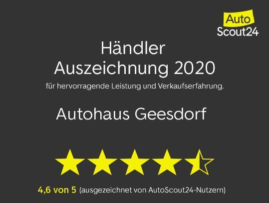 Händler Auszeichnung 2020 Autohaus Geesdorf