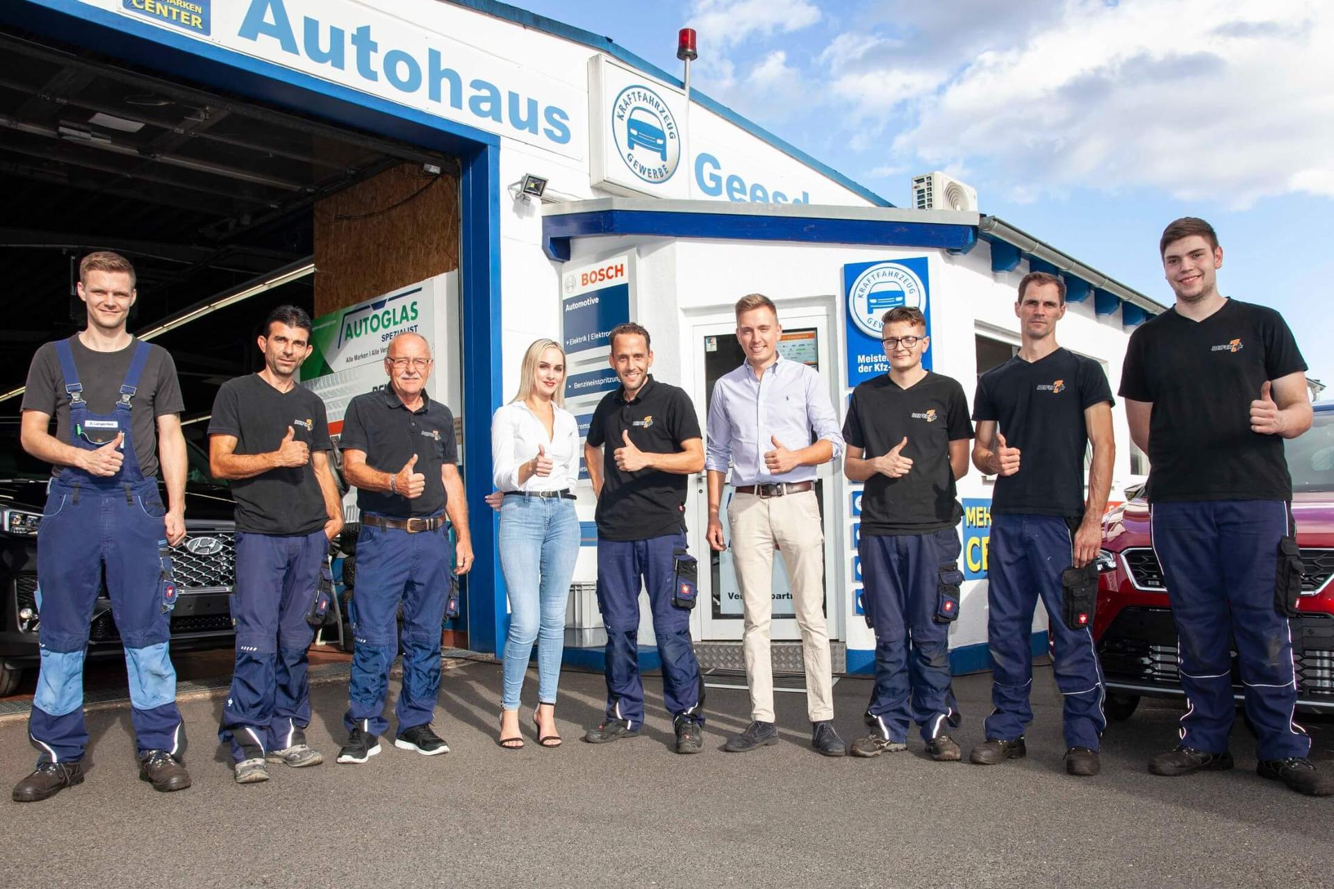 Autohaus Geesdorf - Werkstatt - Autoglas Spezialist