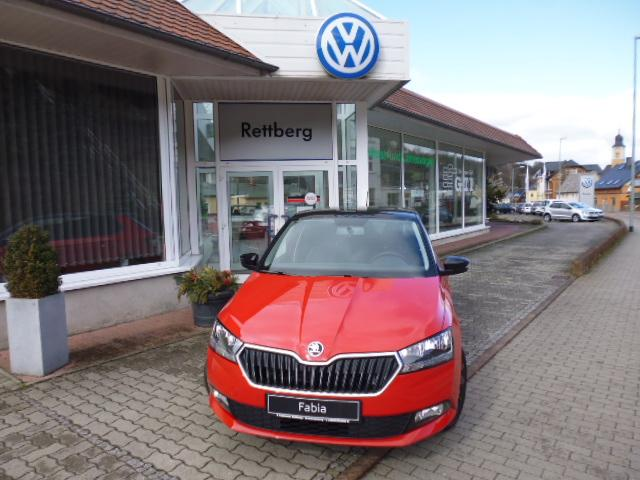 Skoda Fabia - Ambition 1.0 Edition Red & Black