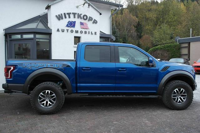 2018 Ford F-150 Raptor SuperCrew - Blue - Wittkopp Automobile