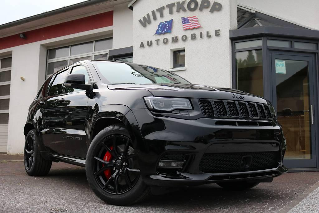 jeep grand cherokee srt schwarze alufelgen us import. Black Bedroom Furniture Sets. Home Design Ideas