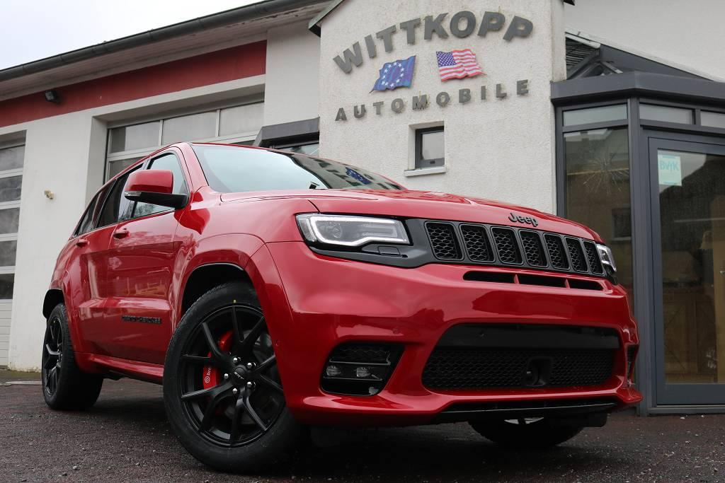 jeep grand cherokee srt 2019 schwarze alufelgen us import. Black Bedroom Furniture Sets. Home Design Ideas
