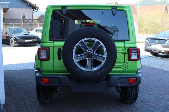 2018 Jeep Wrangler Unlimited JL Sahara - PGE Mojito - Wittkopp Automobile