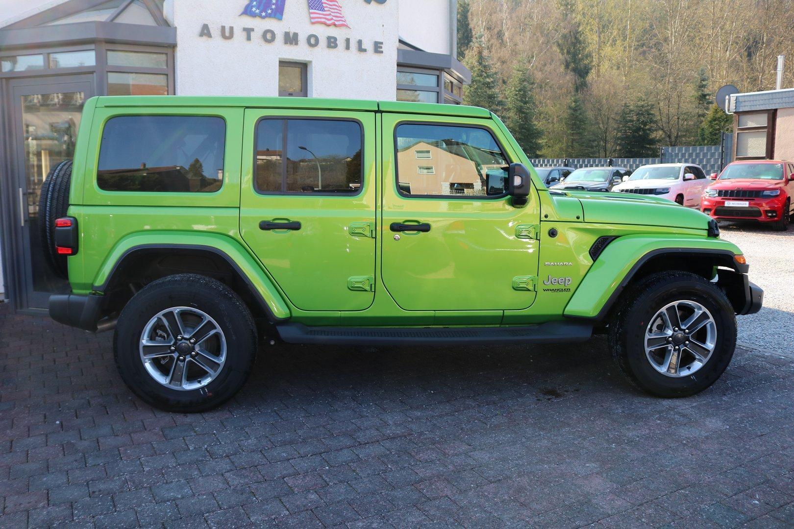 Jeep Wrangler Unlimited Jl Eu Sahara 2 0l T Gdi Hard Top Leder