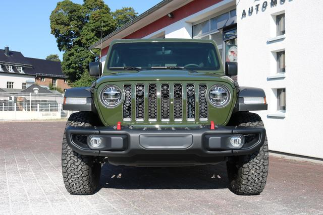 2021 Jeep Wrangler Unlimited JL Rubicon - PGG Sarge Green - Wittkopp Automobile