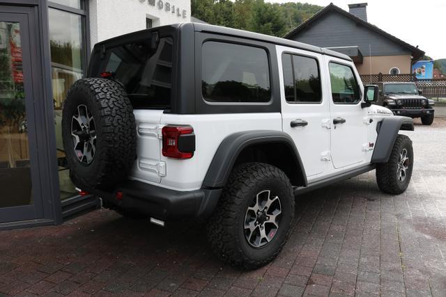 2021 Jeep Wrangler Unlimited JL Rubicon - PW7 Bright White - Wittkopp Automobile