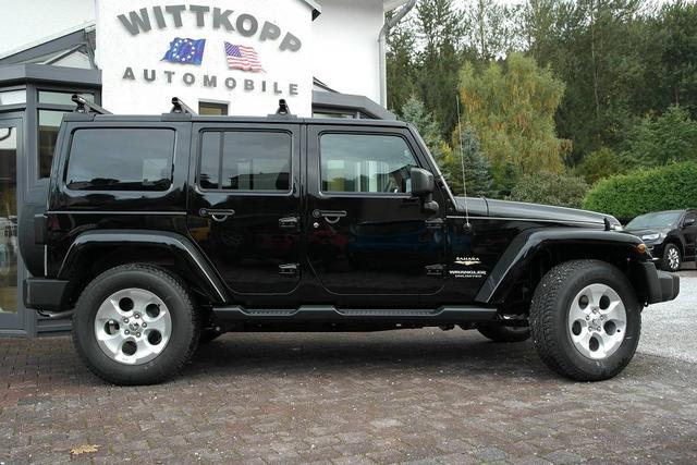 Jeep 1A Sonderumbauten Wrangler JK 2007-2017 Unlimited Sahara