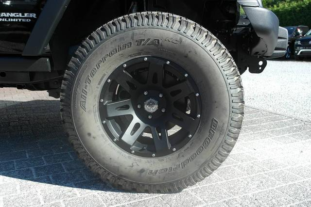 Jeep 1A Sonderumbauten Wrangler JK 2007-2017 Unlimited Rubicon