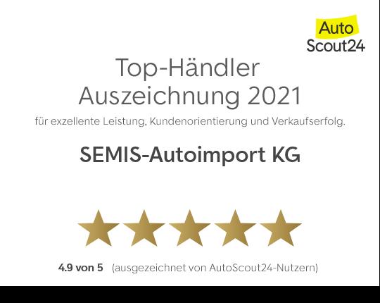 Top-Händler Auszeichnung 2021