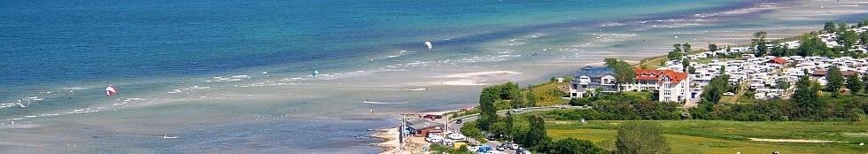 Ferienwohnung an der Ostsee  - Wir verfügen über eine hochwertige, exklusiv ausgestattete Ferienwohnung mit direktem Meerblick - nur wenige Meter vom Strand entfernt.