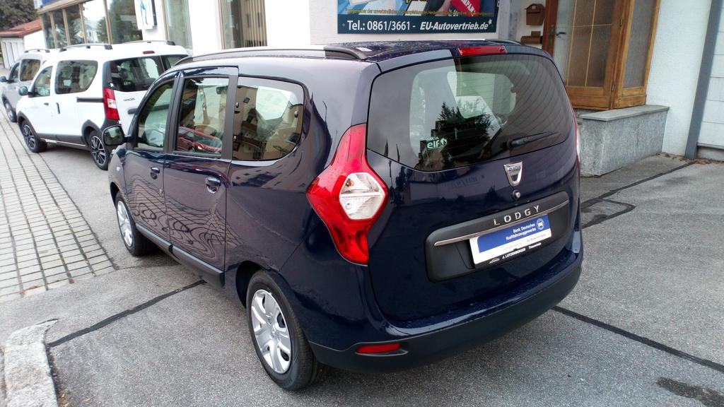Dacia Lodgy 7-Sitzer Laureate (Comfort) Blue dCi 95 Klimaanlage ...