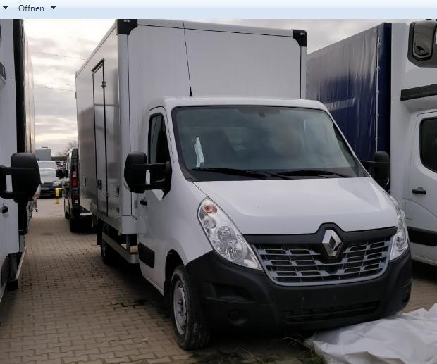 Renault Master Koffer
