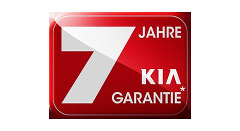 KIA ist der einzige Hersteller mit 7 Jahren Werksgarantie oder 150000 km je nachdem was zuerst erreicht wird!