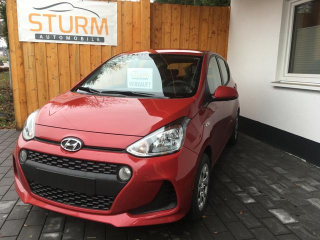 Hyundai i10 - 1.0 EURO6d-Temp AT Klima PDC Radio