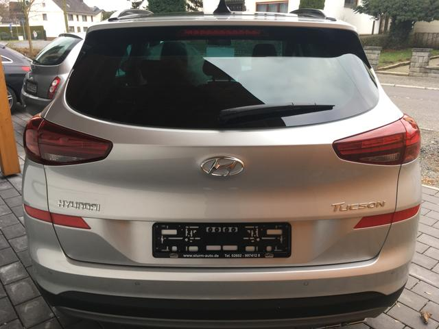 "Hyundai Tucson 1.6 Turbo AT LED Navigation Panoramadach Smart Key 19"" DAB Safty"